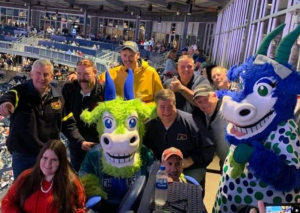CFCA Members attend a Yard Goats Game